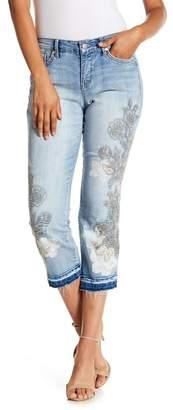 Nine West Chrystie Slim Cuff Jeans