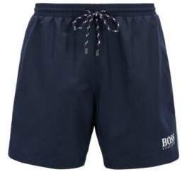 BOSS Hugo 'Starfish BM' Quick Dry Swim Trunks M Dark Blue