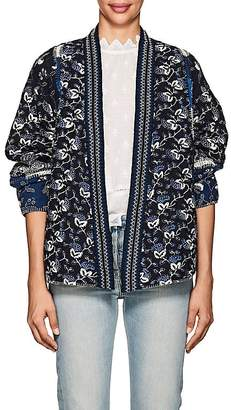 Ulla Johnson Women's Sachi Floral Quilted Cotton Jacket
