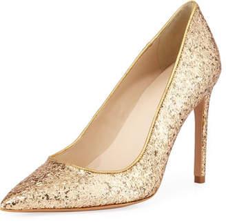 Sophia Webster Rio Coarse Glitter High-Heel Pumps