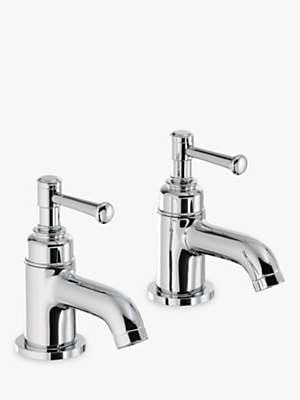 Abode Gallant Bathroom Basin Pillar Taps, Set of 2