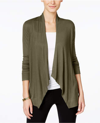 INC International Concepts I.n.c. Petite Open-Front Cardigan, Created for Macy's