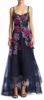 Marchesa High-Low Gown