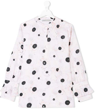 Christian Dior Teen floral print blouse