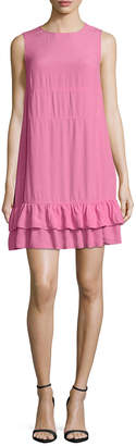 RED Valentino Tiered Flounce Dress