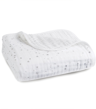 aden + anais Silver Printed White Blanket $98.40 thestylecure.com