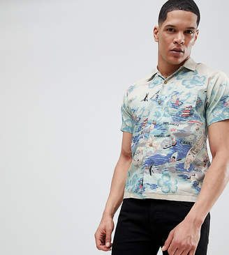 Replay Hawaiian Short Sleeve Shirt
