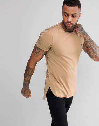 Religion T-Shirt With Dropped Hem