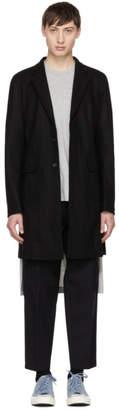 Comme des Garcons Black Wool Coat