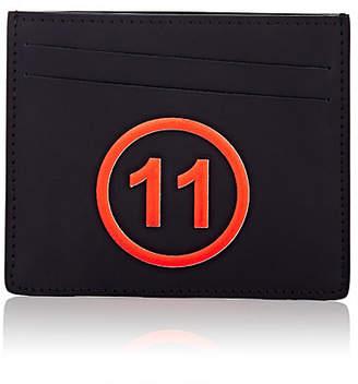 Maison Margiela Men's Leather Card Case - Black
