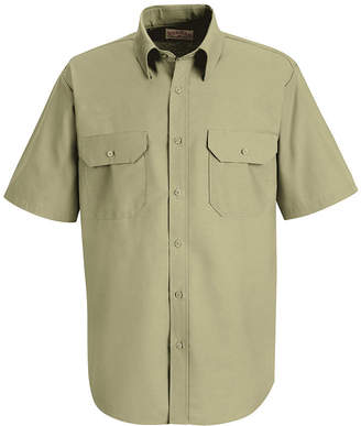 JCPenney Red Kap SP60 Dress Uniform Shirt-Big & Tall