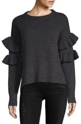 Mona Ruffle Sleeve Sweater