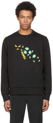 Fendi Black Jaguar Sweatshirt