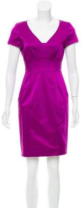 Strenesse Satin Sheath Dress