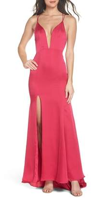 Fame & Partners The Thora Satin Gown