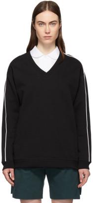 Kenzo Black V-Neck Sweatshirt