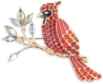 Anne Klein Basic Goldtone Crystal Bird Pin