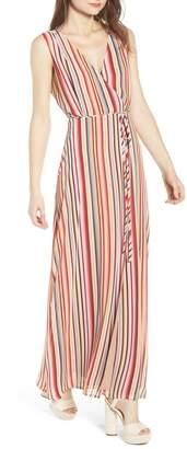 WAYF Bobby Wrap Maxi Dress
