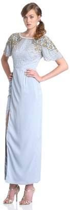 Virgos Lounge Women's Olivia Embellished Shoulder Maxi Dress