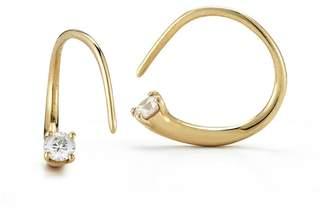 ara Jade Trau Mini Hoops - Yellow Gold