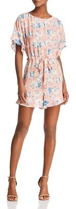 French Connection Cari Frill Floral Romper
