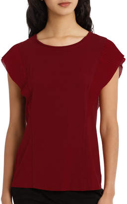 Basque Must Have Pleat Sleeve Tee