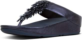 FitFlop Rumba Leather Toe-Thongs