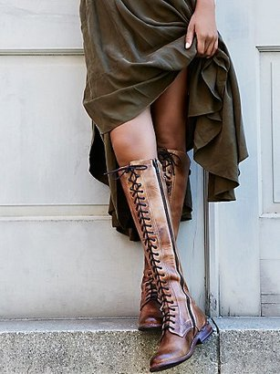 Glastonbury Lace-Up Boot by Bed Stu at Free People $345 thestylecure.com