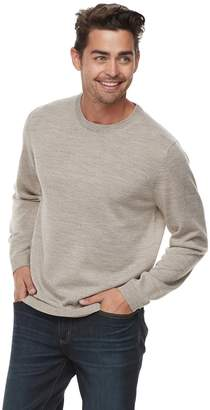 Apt. 9 Men Apt. 9? Wool-Blend Merino Crewneck Sweater