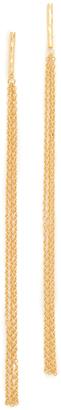 Gorjana Twiggy Fringe Duster Earrings $50 thestylecure.com