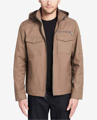 Calvin Klein Men's Hooded Barn Jacket