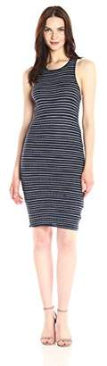Splendid Women's Stripe Rib Knit Dress