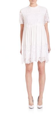 KENDALL + KYLIE Lace Babydoll Dress $178 thestylecure.com