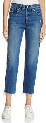 Levi's Wedgie Straight Jeans in Lasting Impression $98 thestylecure.com