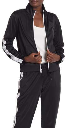 Andrew Marc Two-Tone Track Jacket