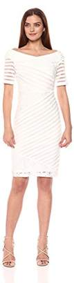 Jax Women's Sheath Dress with Lace Trim
