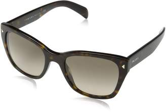Prada PR09SS 2AU3D0 54mm - Size: 54-20-140 - Color: Havana Light Brown