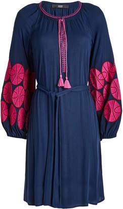 Steffen Schraut Embroidered Mini Dress