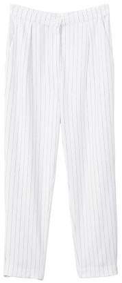MANGO Striped trousers