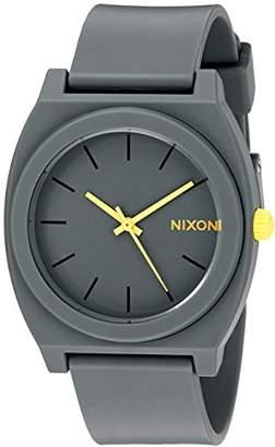 Nixon Women's A1191244 Time Teller P Analog Display Japanese Quartz Grey Watch