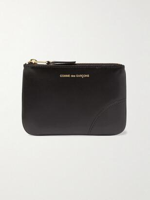 Comme des Garcons Leather Coin Wallet - Men - Black