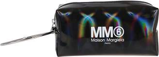 MM6 MAISON MARGIELA Black Polyurethane Clutch