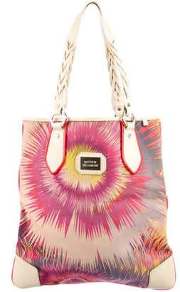 Matthew Williamson Leather-Trimmed Canvas Tote