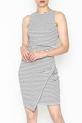 BB Dakota Striped Dress