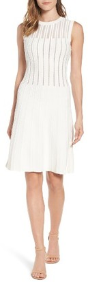 Women's Anne Klein Knit A-Line Dress $129 thestylecure.com