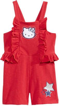 Hello Kitty Bow-Back Romper, Toddler Girls