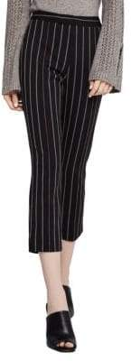 BCBGeneration Striped Cropped Trousers
