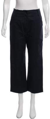 La Garçonne Moderne High-Rise Wide-Leg Pants