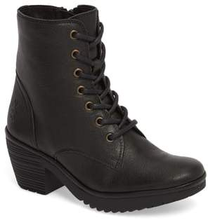 Fly London Woke Lace-Up Bootie