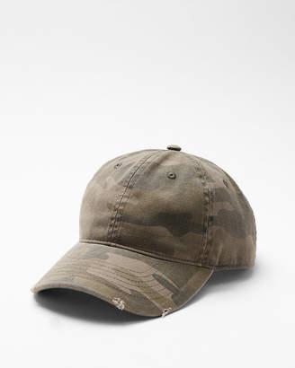 Express Camo Washed Baseball Hat